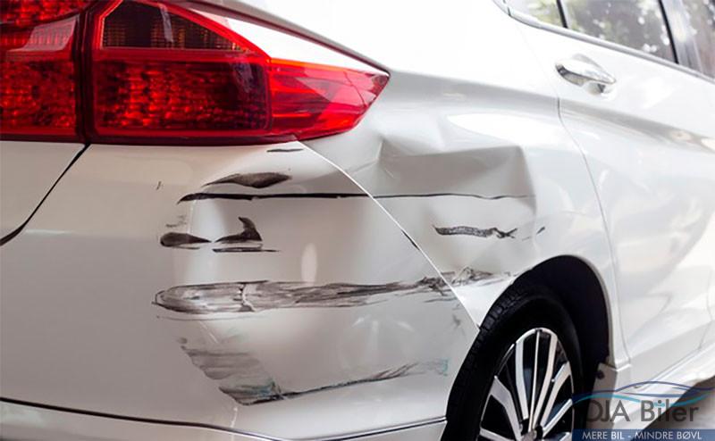 reperation af forsikringsskader bil